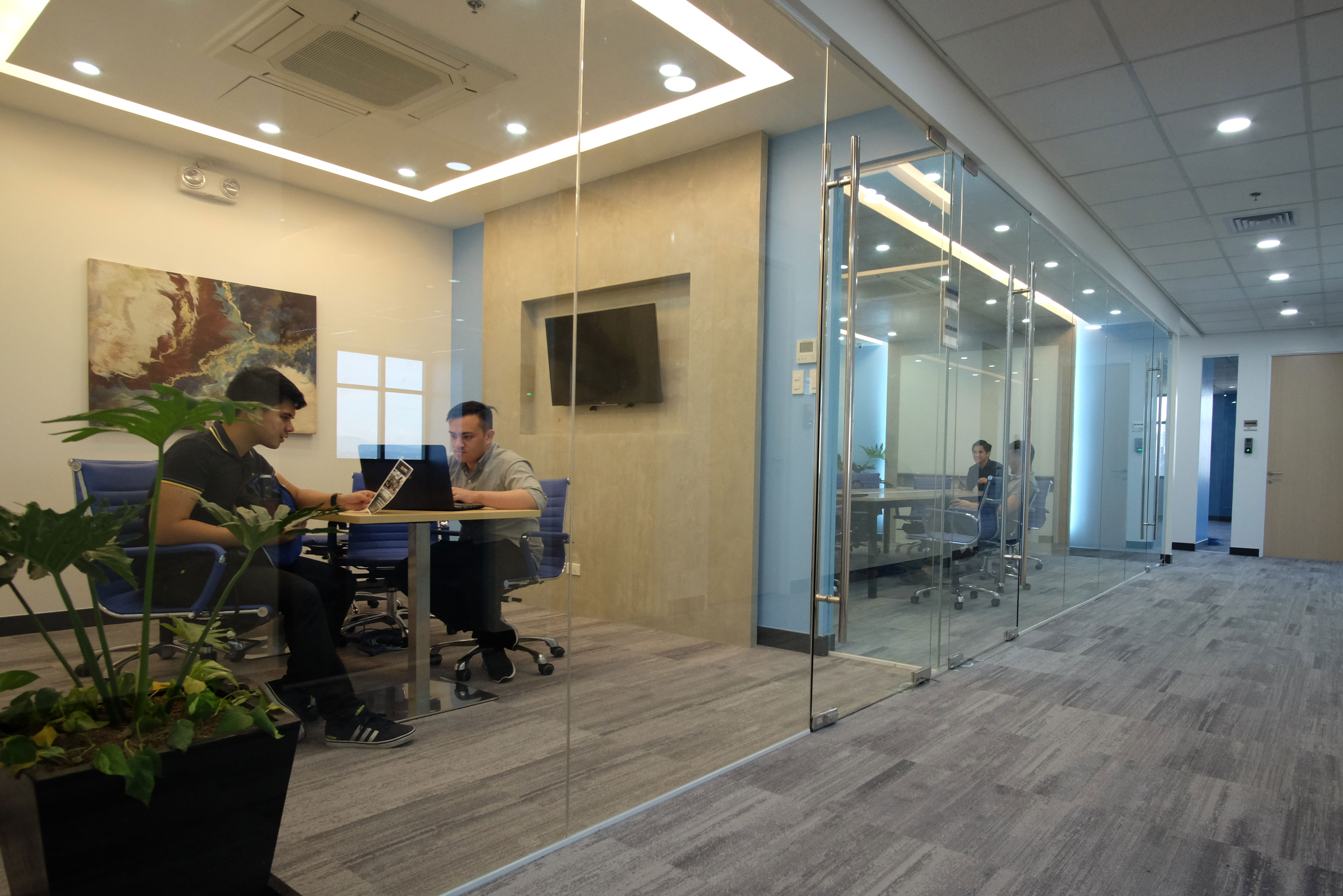 Private Office with  61 desks at Cyber Sigma, BGC, Taguig