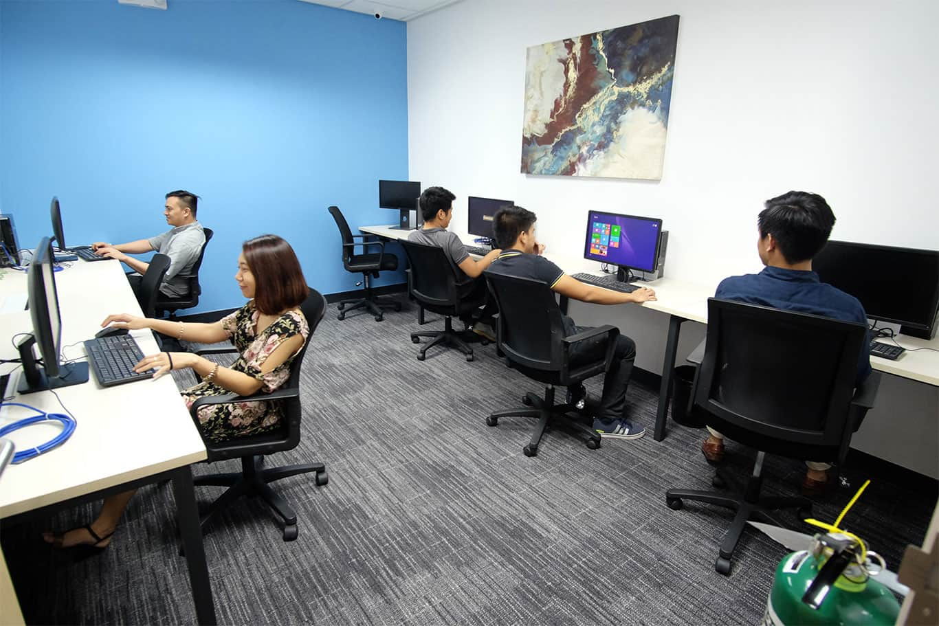 Private Office with 7 desks at Cyber Sigma, BGC, Taguig