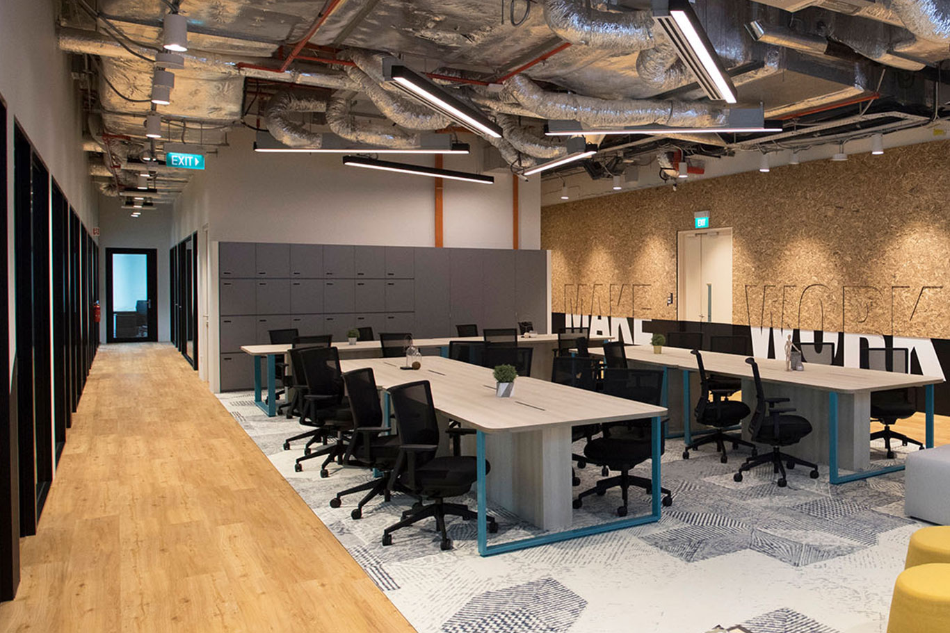 Coworking Space in Verizon Innovation Community, Singapore