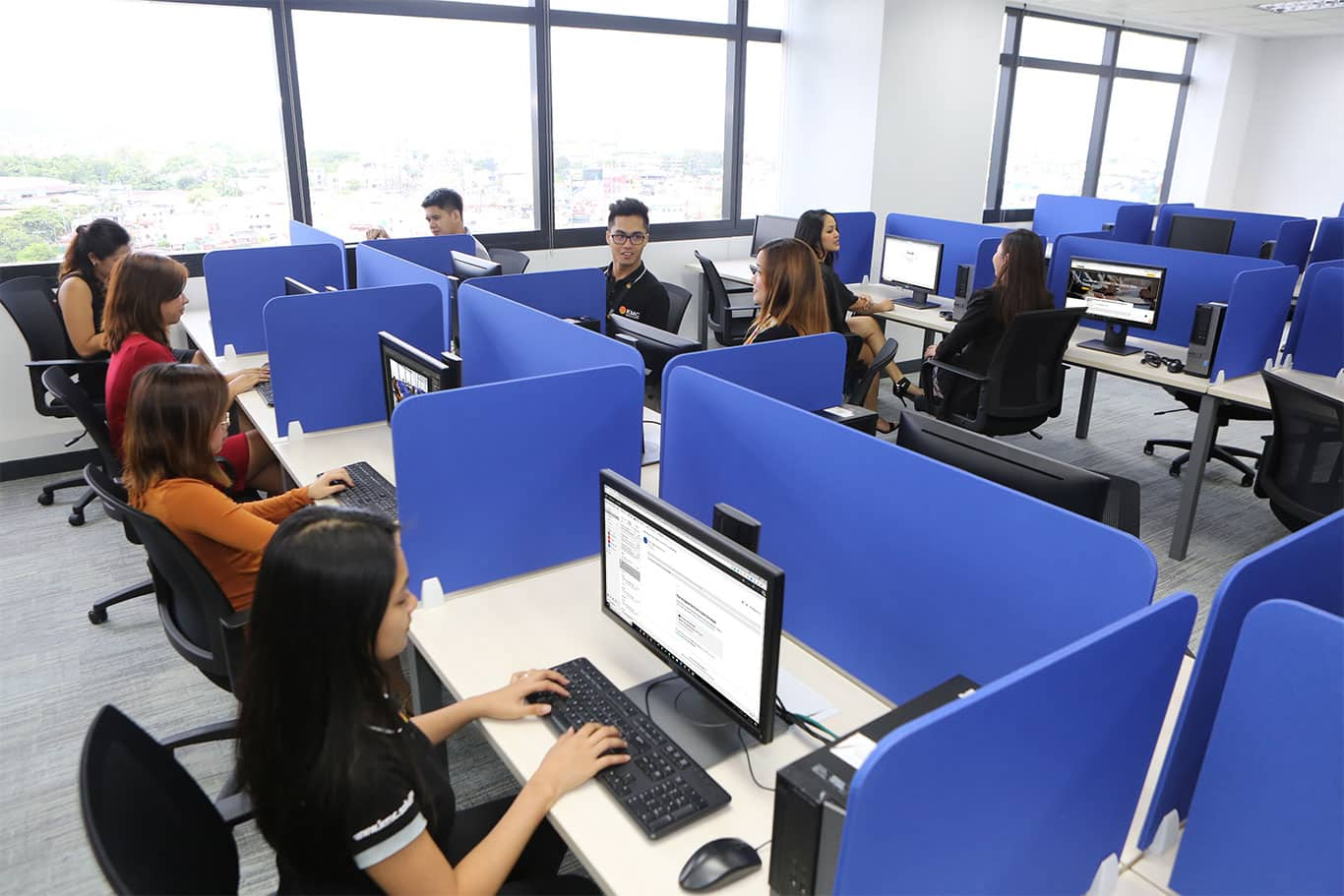 Private Office with 89 desks at Zeta Tower, Quezon City