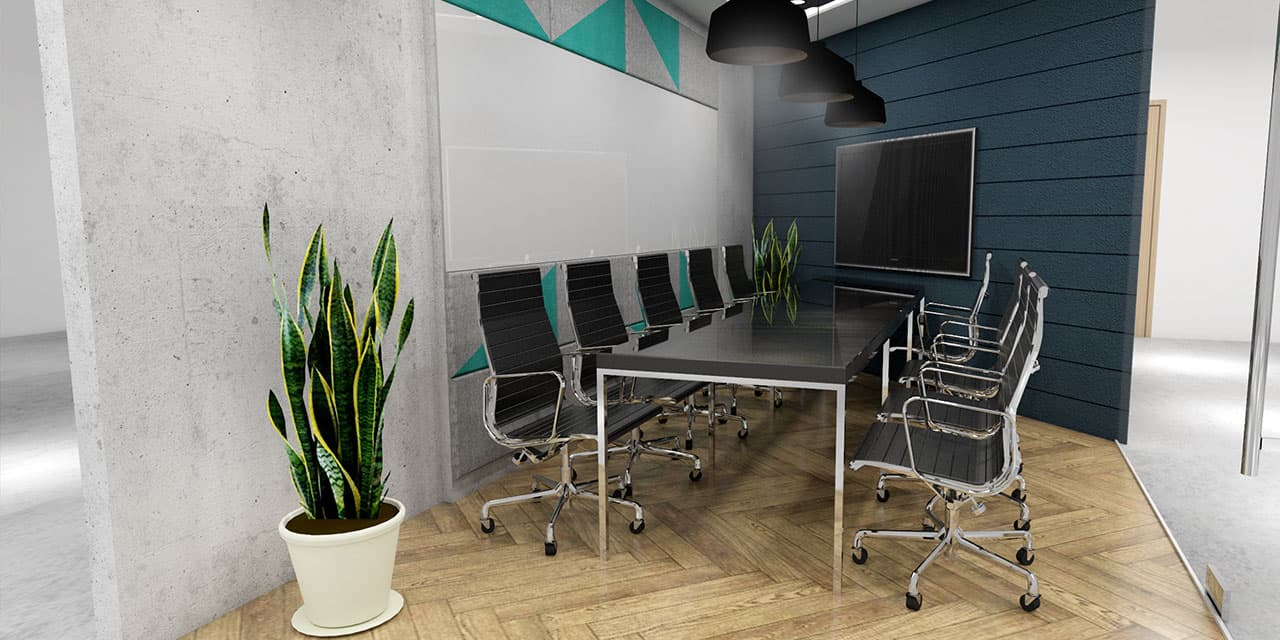 Meeting Room Area in KMC Cyberscape Gamma Private Office Space for rent, Mandaluyong City - EpicSpace