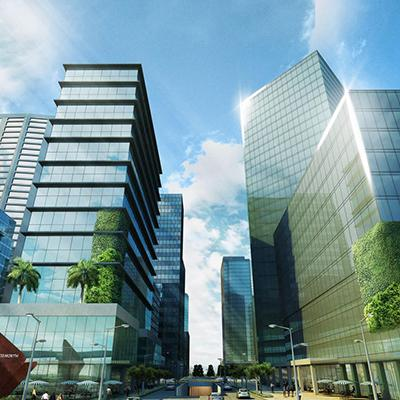 2236 sqm Fully Fitted Office Space in Vertis North Corporate Center, Quezon City