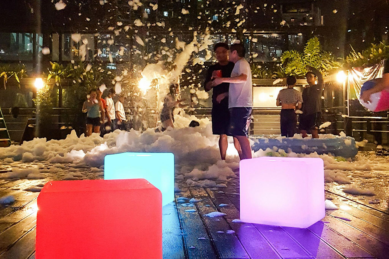 KMC SkyDeck Foam Party 2018 at Picadilly Star, BGC, Taguig, Manila, Philippines - EpicSpace