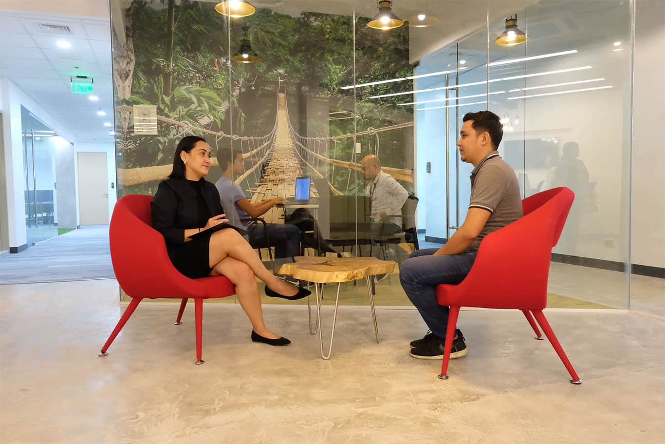 Private Office with 24 desks at Sheridan Tower, Mandaluyong
