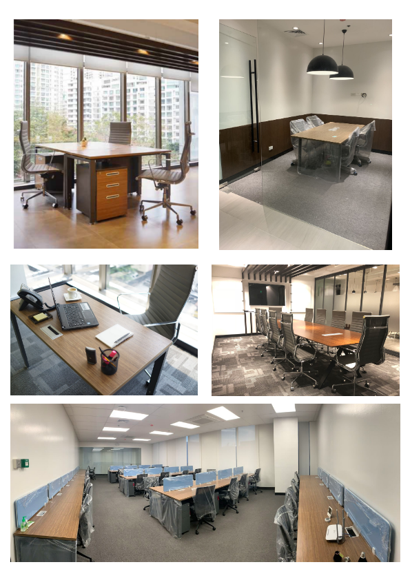 600 SQM Fully Fitted Office Space in Bay Area